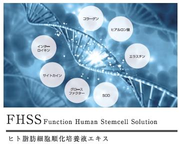 FHSSはヒト脂肪細胞順化培養液エキス